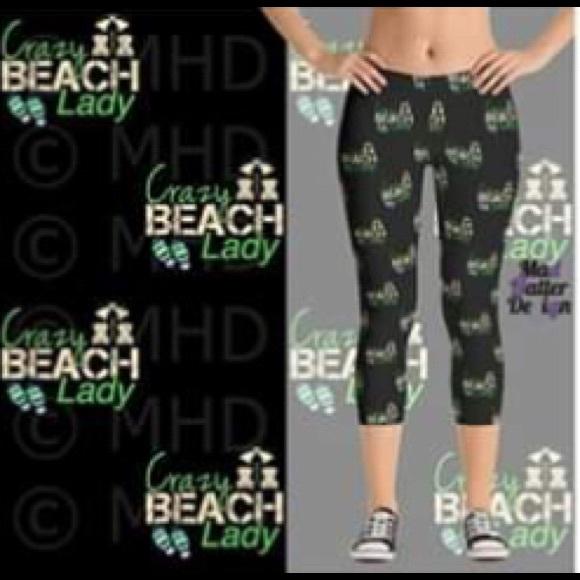 486302543e581 Pants | Beach Lady Capri Leggings | Poshmark